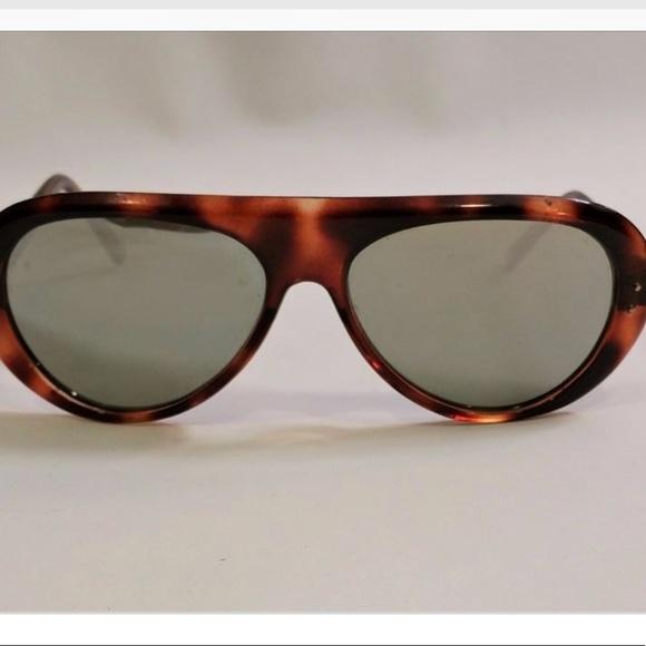 fa40bf6cb6 Rare 80s Vintage Ski Glasses Tortoise. M 5ae3b7189d20f024f10e11c3